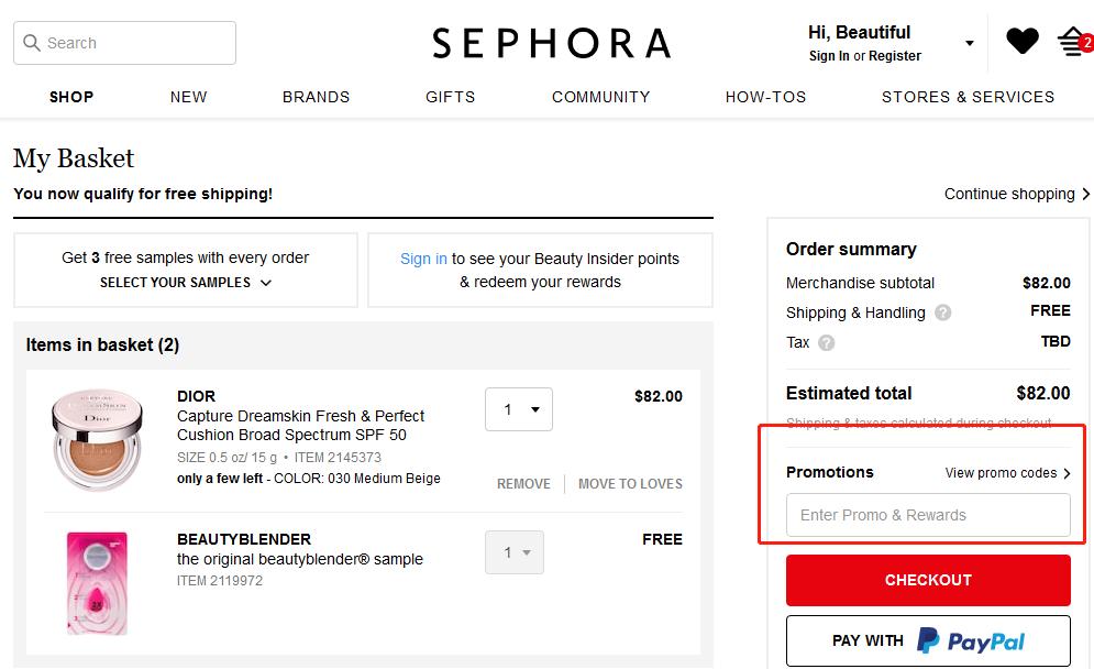 Sephora Coupons 01