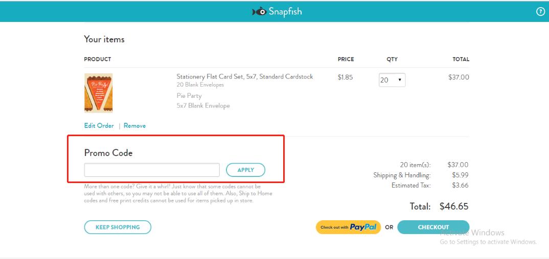 Snapfish Coupons 01