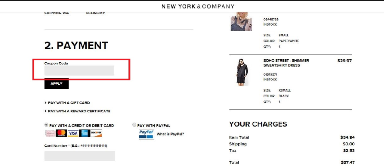 New York & Company Coupons 01