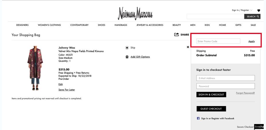 Neiman Marcus Coupons