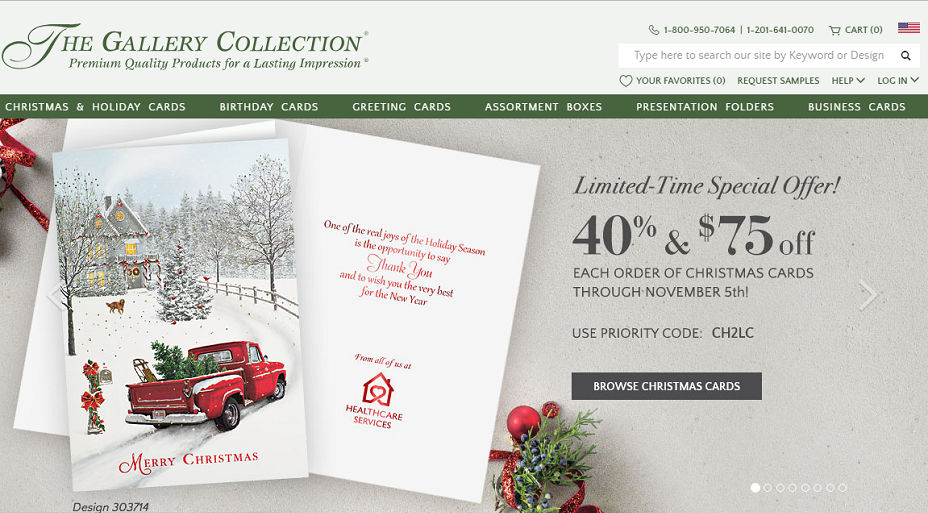 The Gallery Collection Coupons