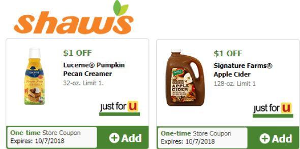 Shaw's Coupons